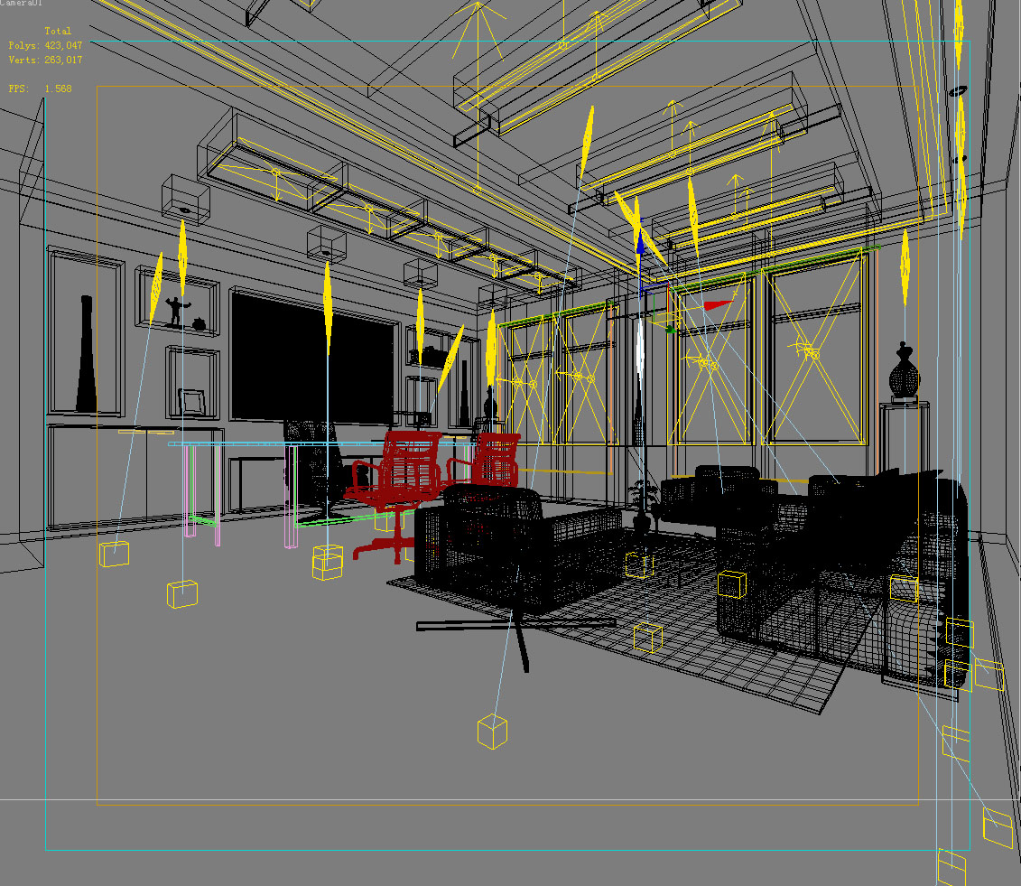 office 067 3d model max 137326