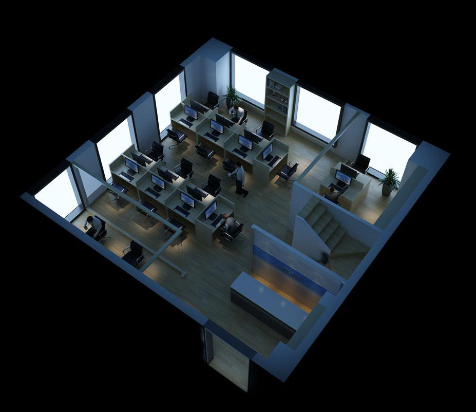 office 069 3d model max 137329