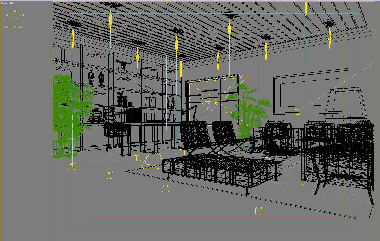 office 071 3d model max 137334