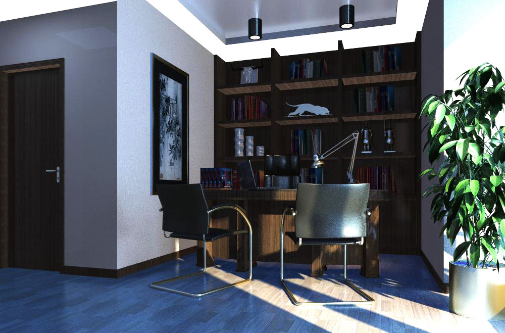 office 073 3d model max 137337