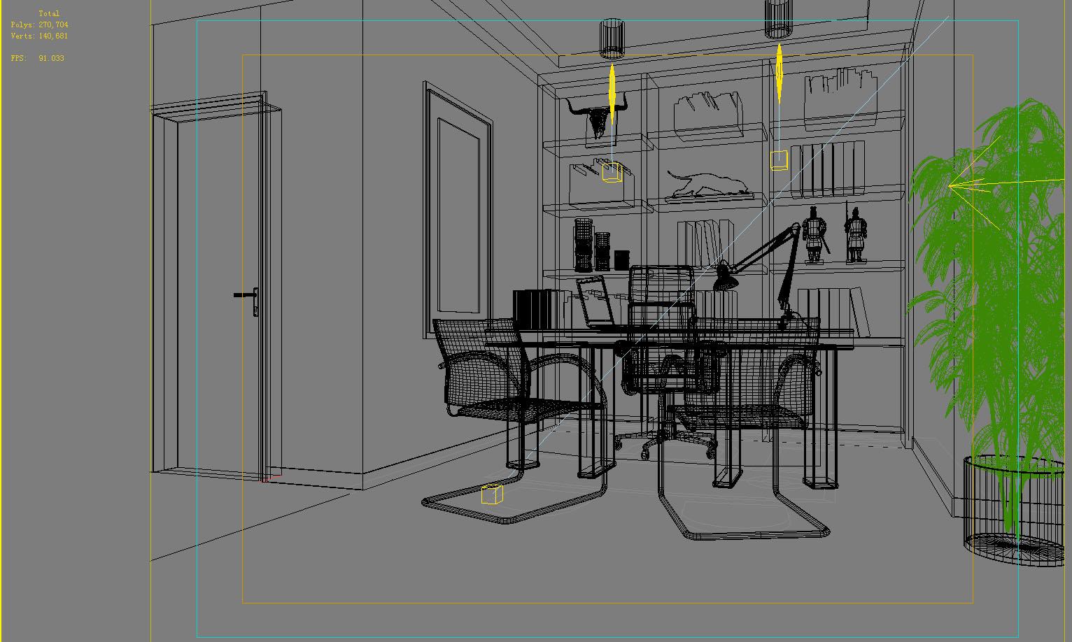 office 073 3d model max 137338