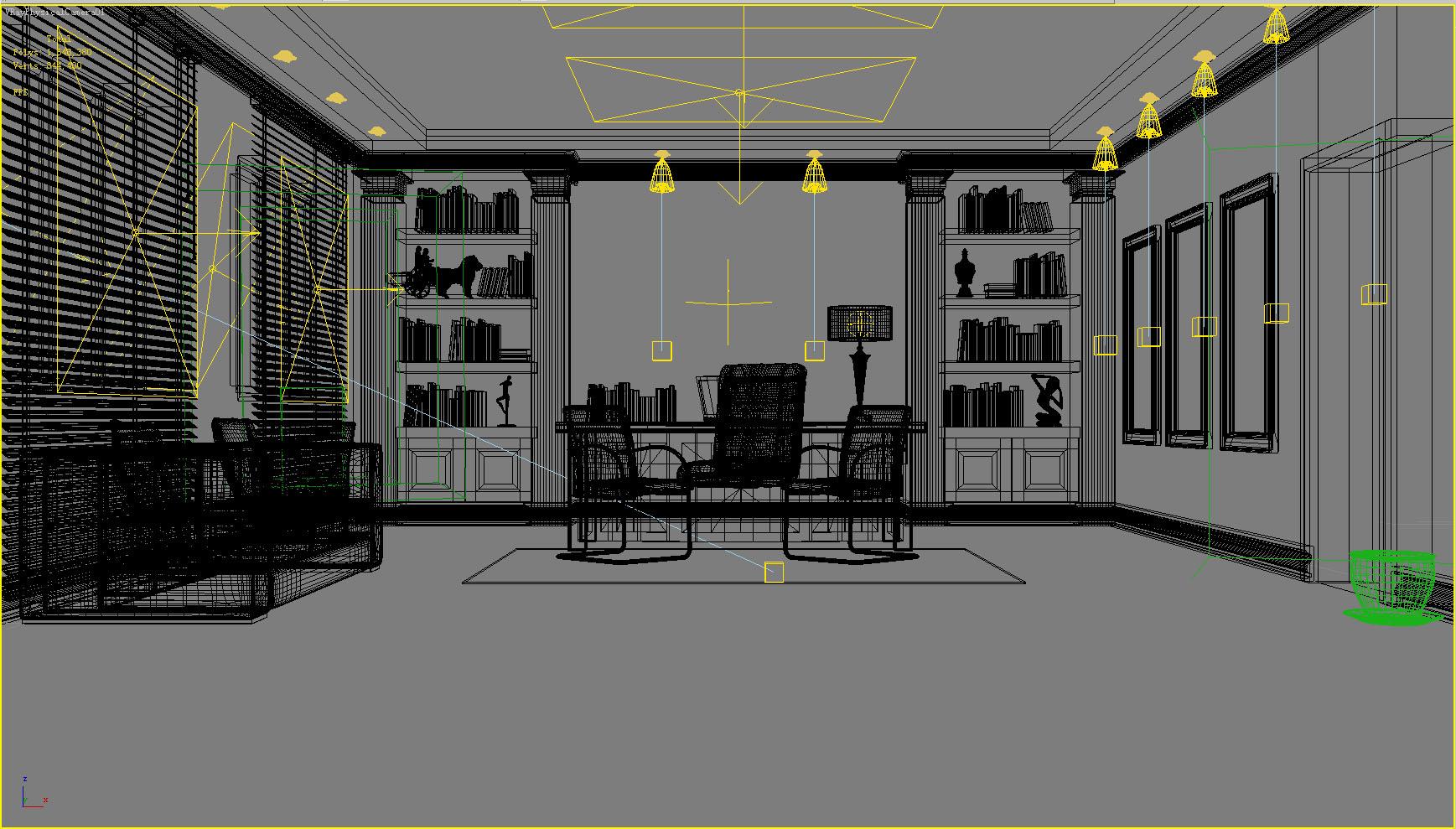 office 077 3d model max 137346