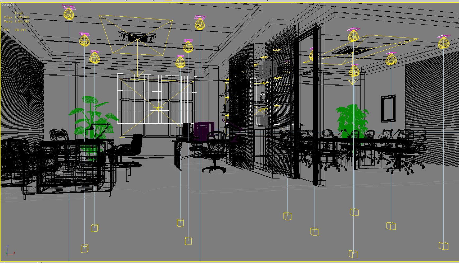 office 078 3d model max 137348