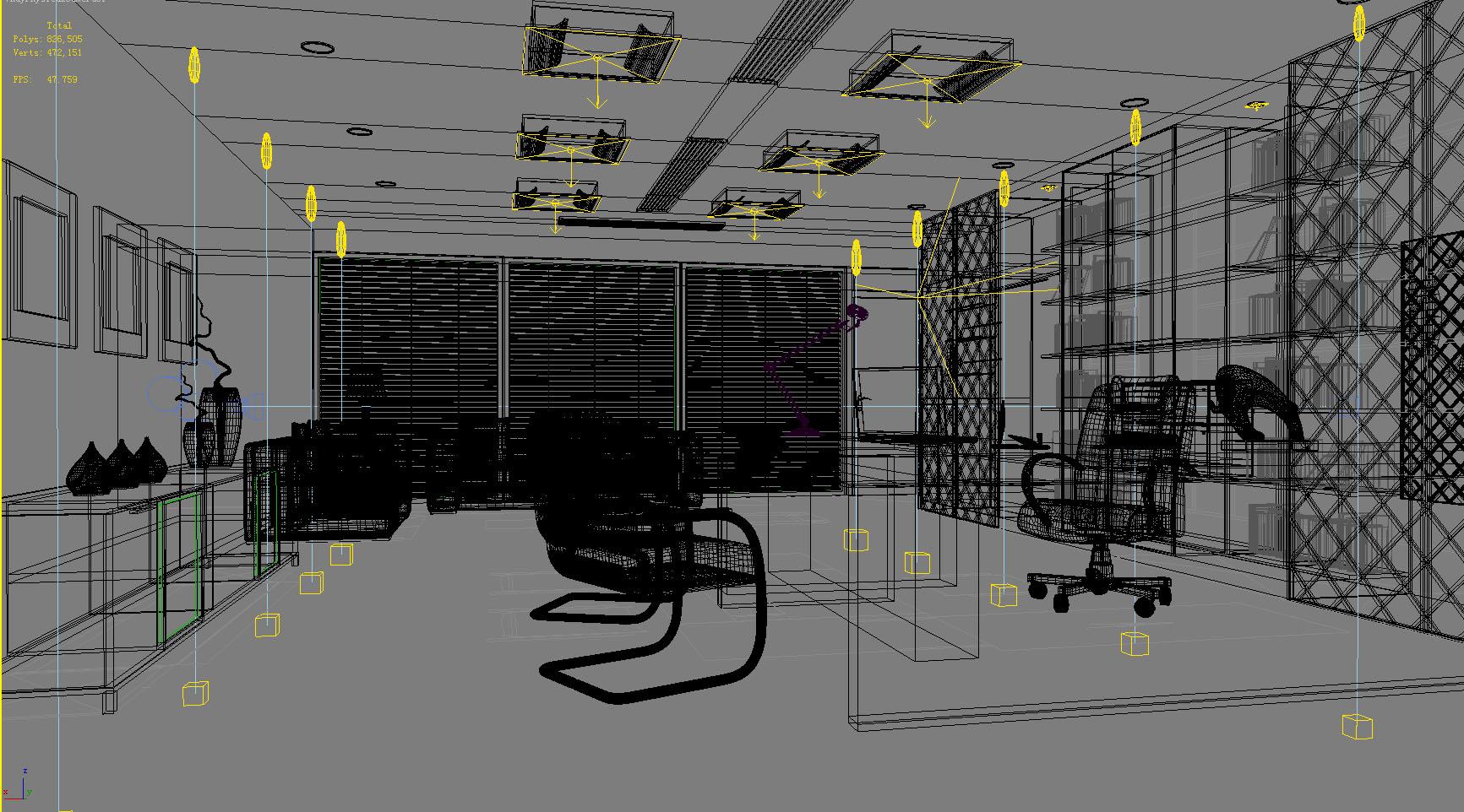 office 081-1 3d model max 137354