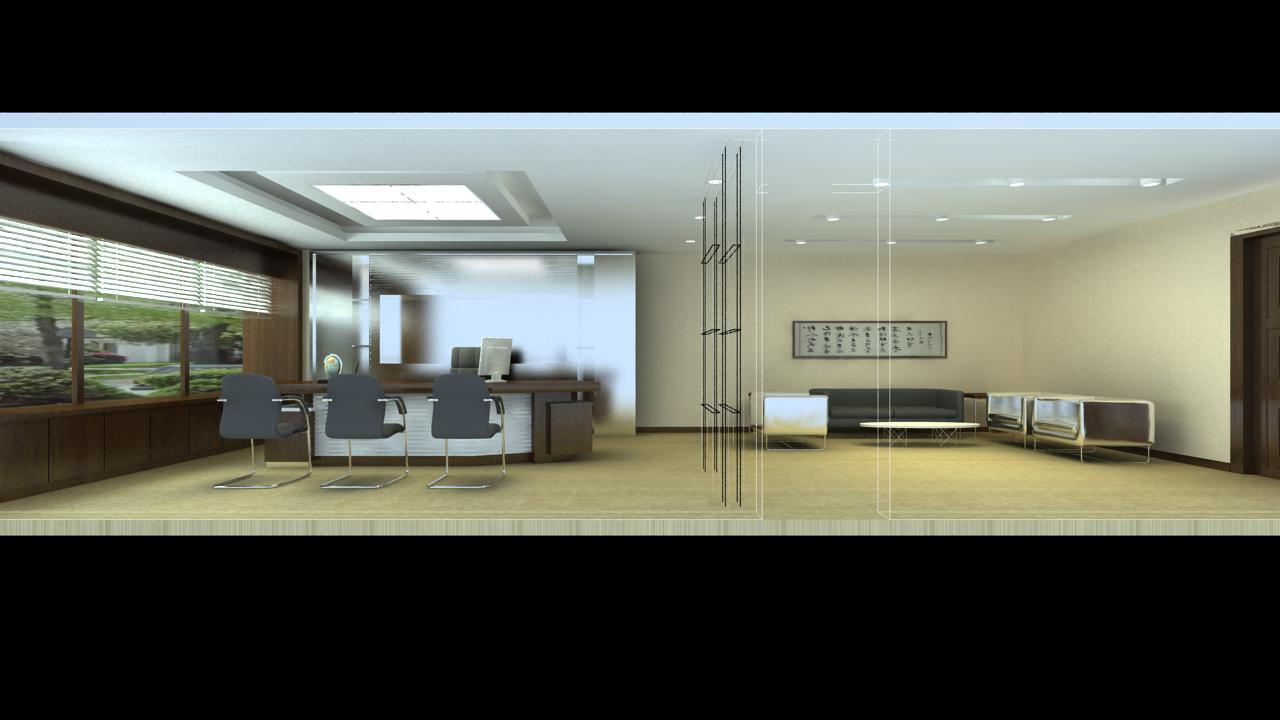 office 085 two 3d model max 144397