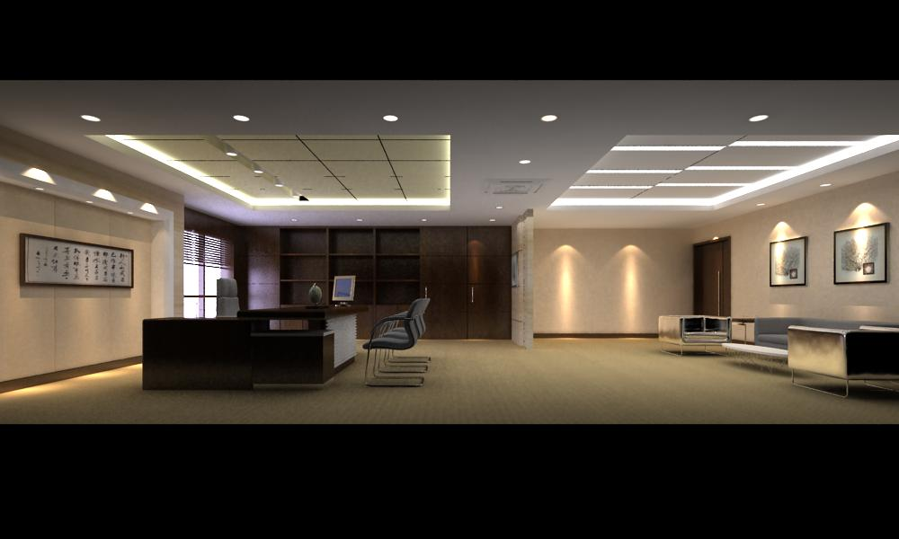 office 090 two 3d model max 144537