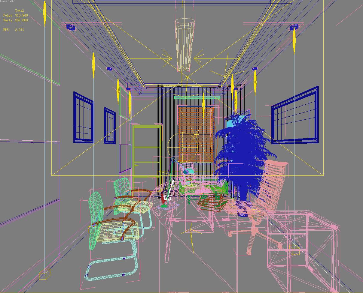 office 097 3d model max 137387