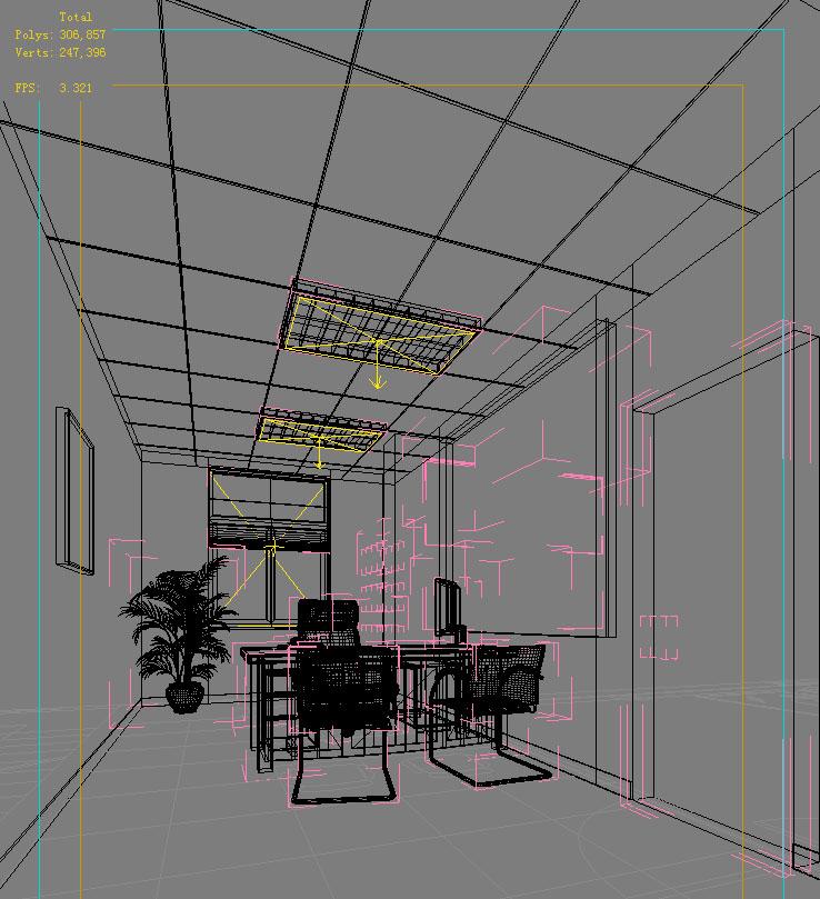 office 099 3d model max 137392