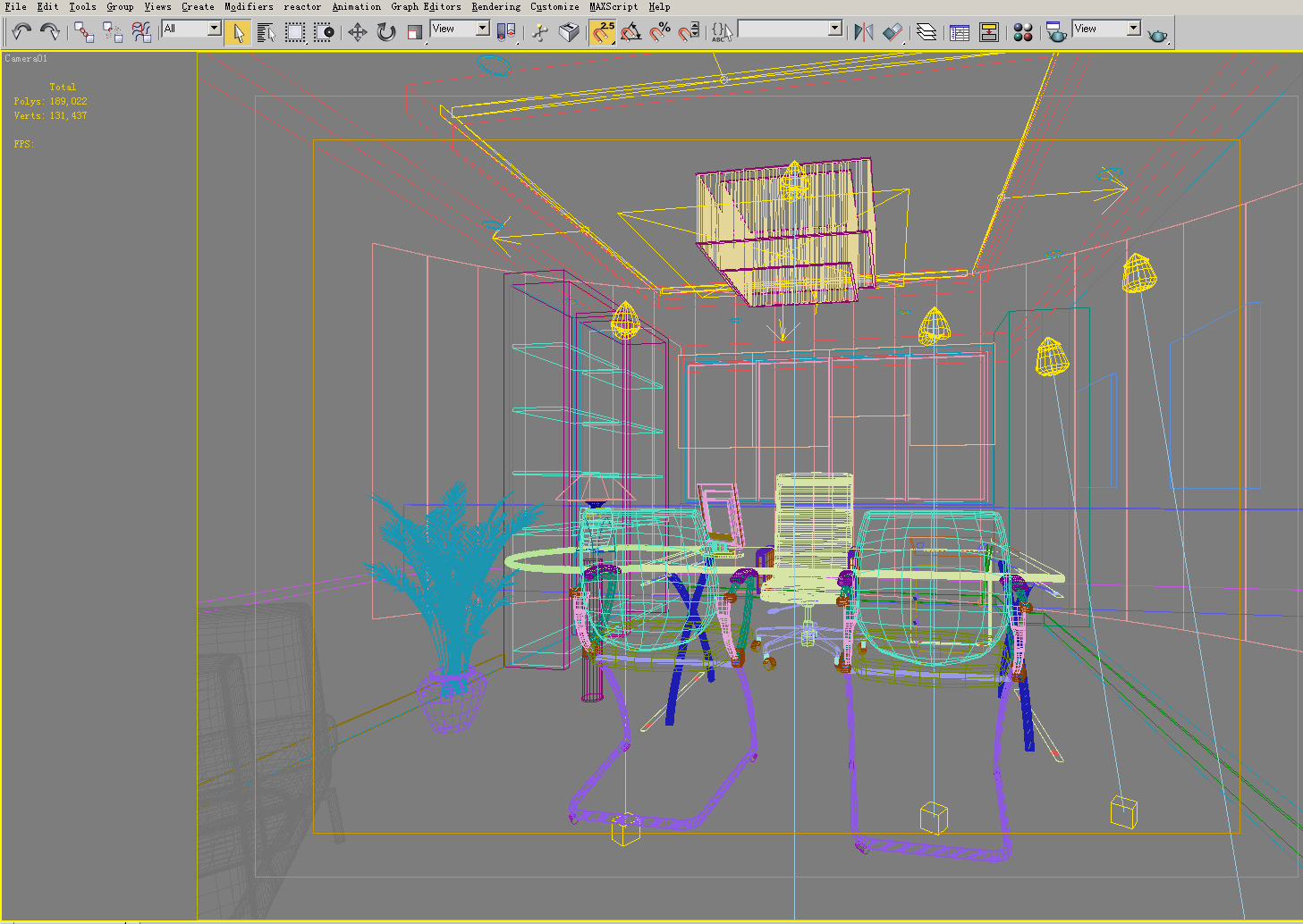 office 103 two 3d model max 144736