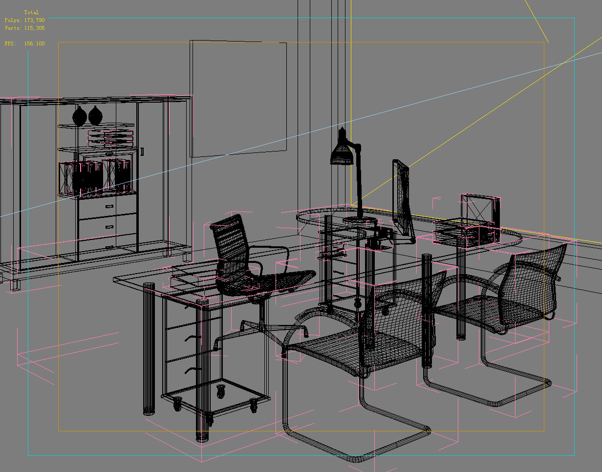 office 104 3d model max 137402