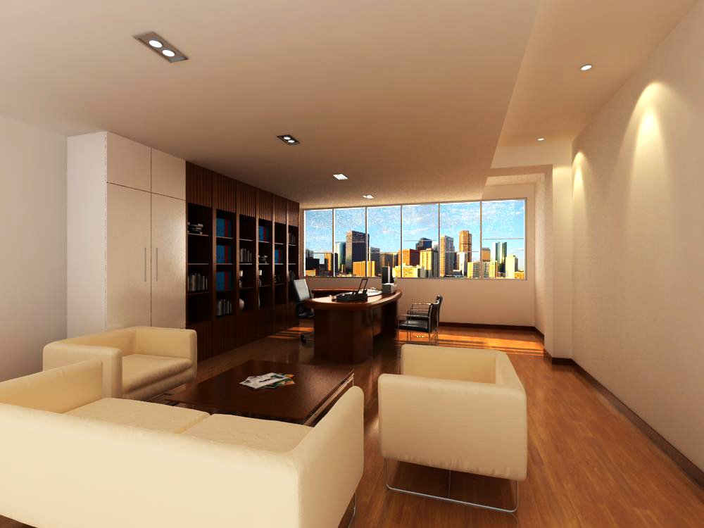 office 104 two two 3d model max 144745