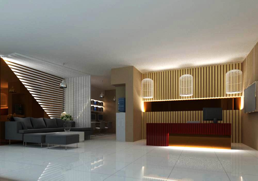 office 105 3d model max 137403