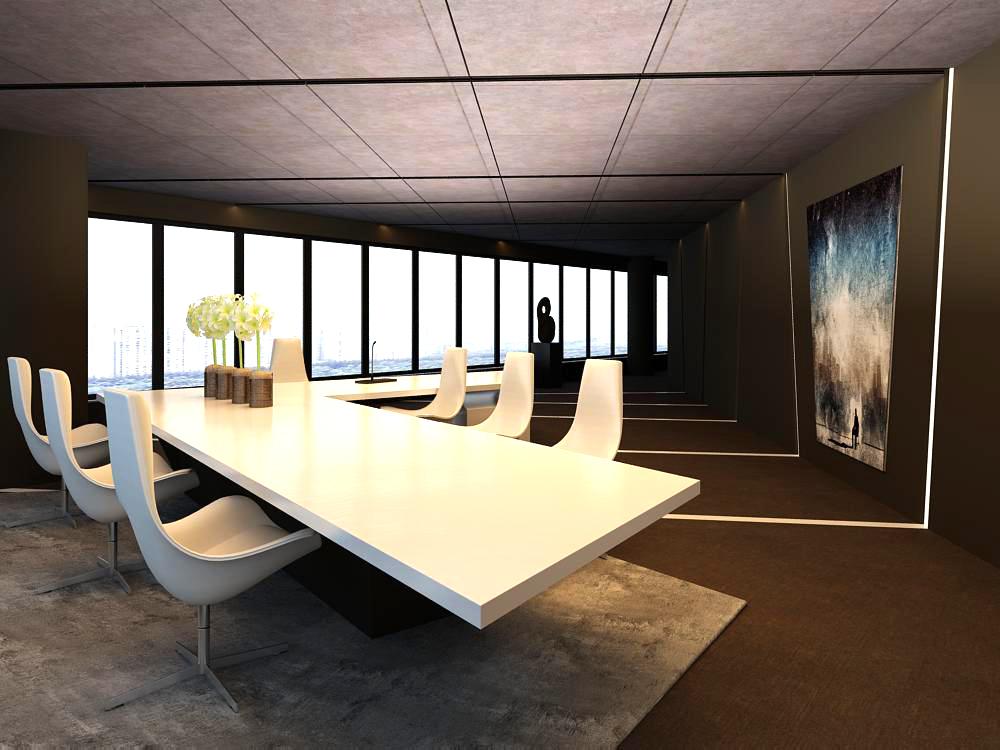 office 107 3d model max 137407