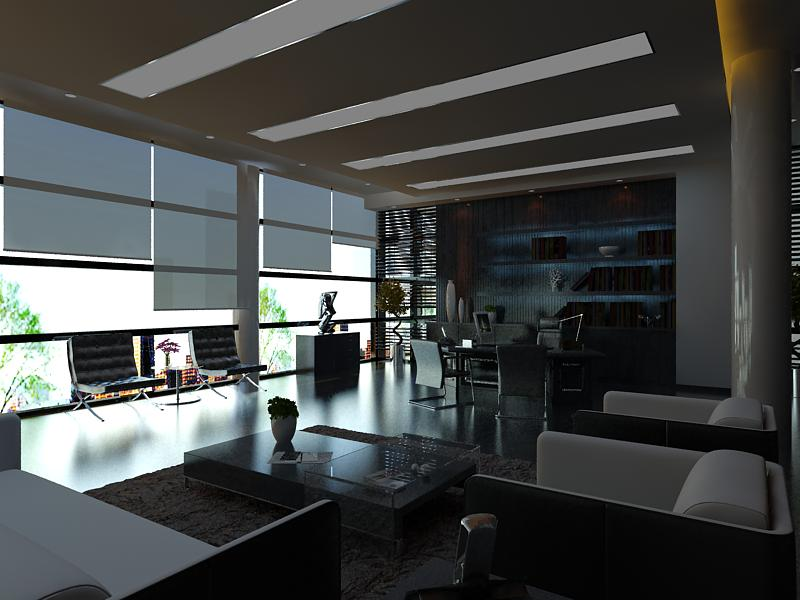 office 107 two 3d model max 144786