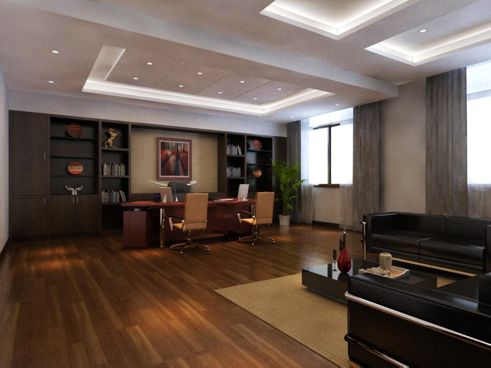 office 117 3d model max 137440