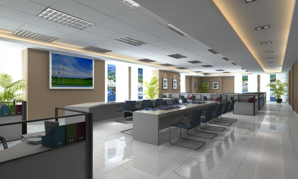 office 118 3d model max 137442