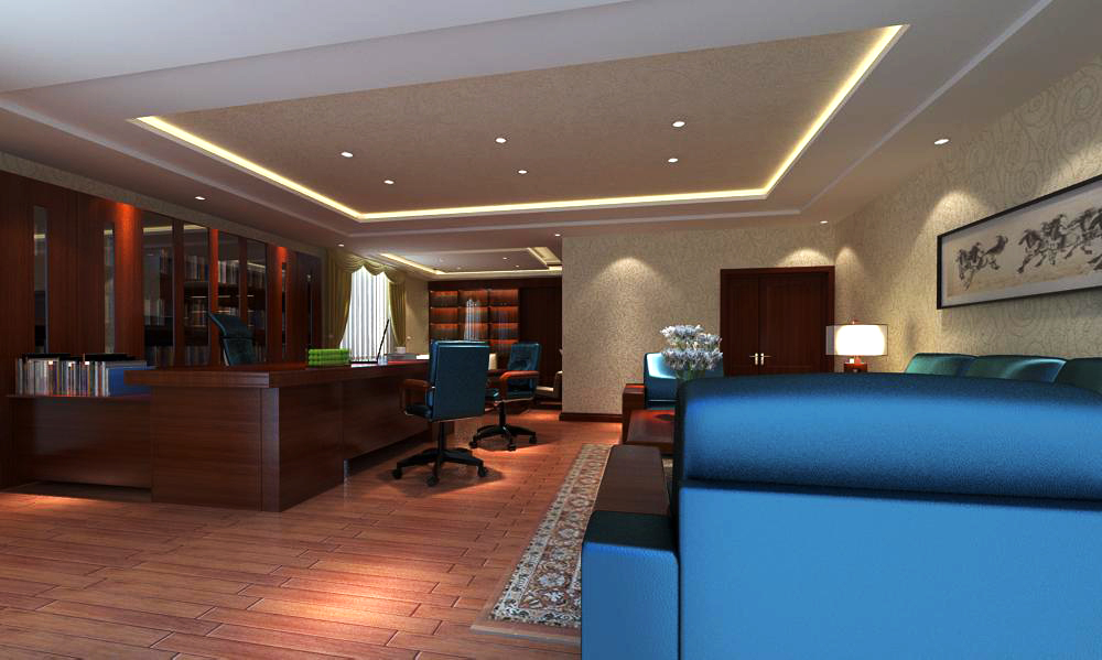 office 119 3d model max 137444