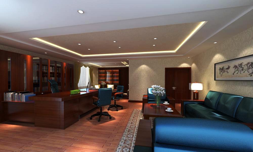 office 120 3d model max 137446