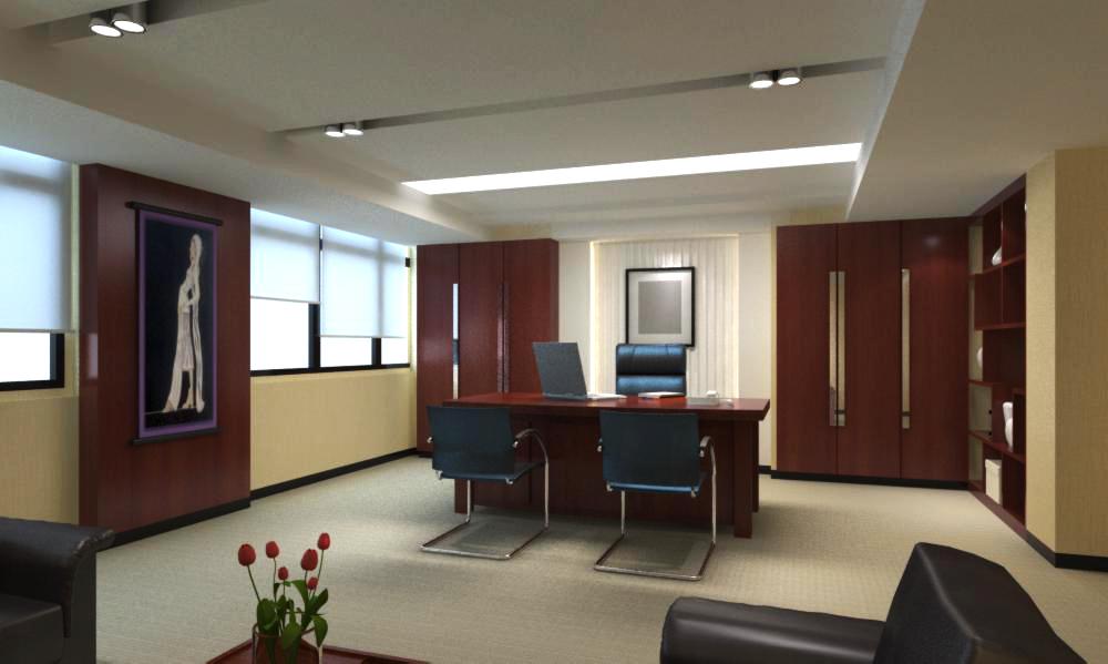 office 121 3d model max 137448