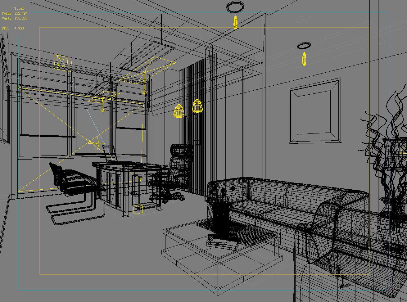 office 123 3d model max 137451