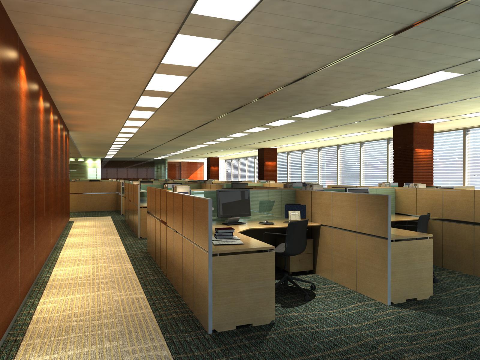 office 126 3d model max 122075