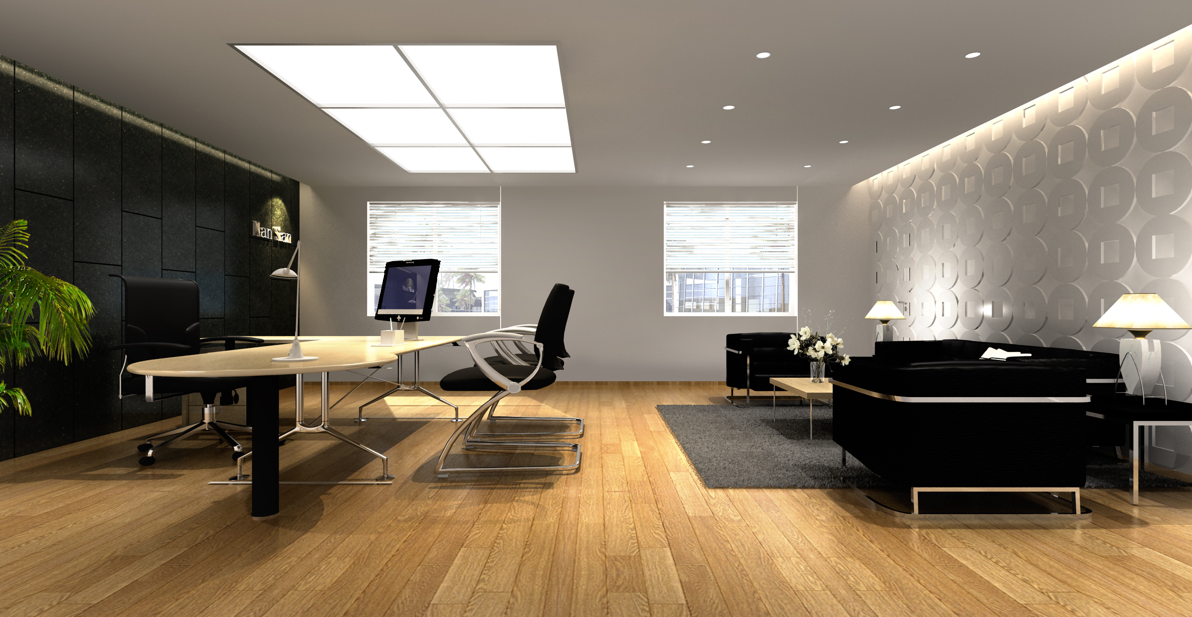 office 126 two 3d model max 137456