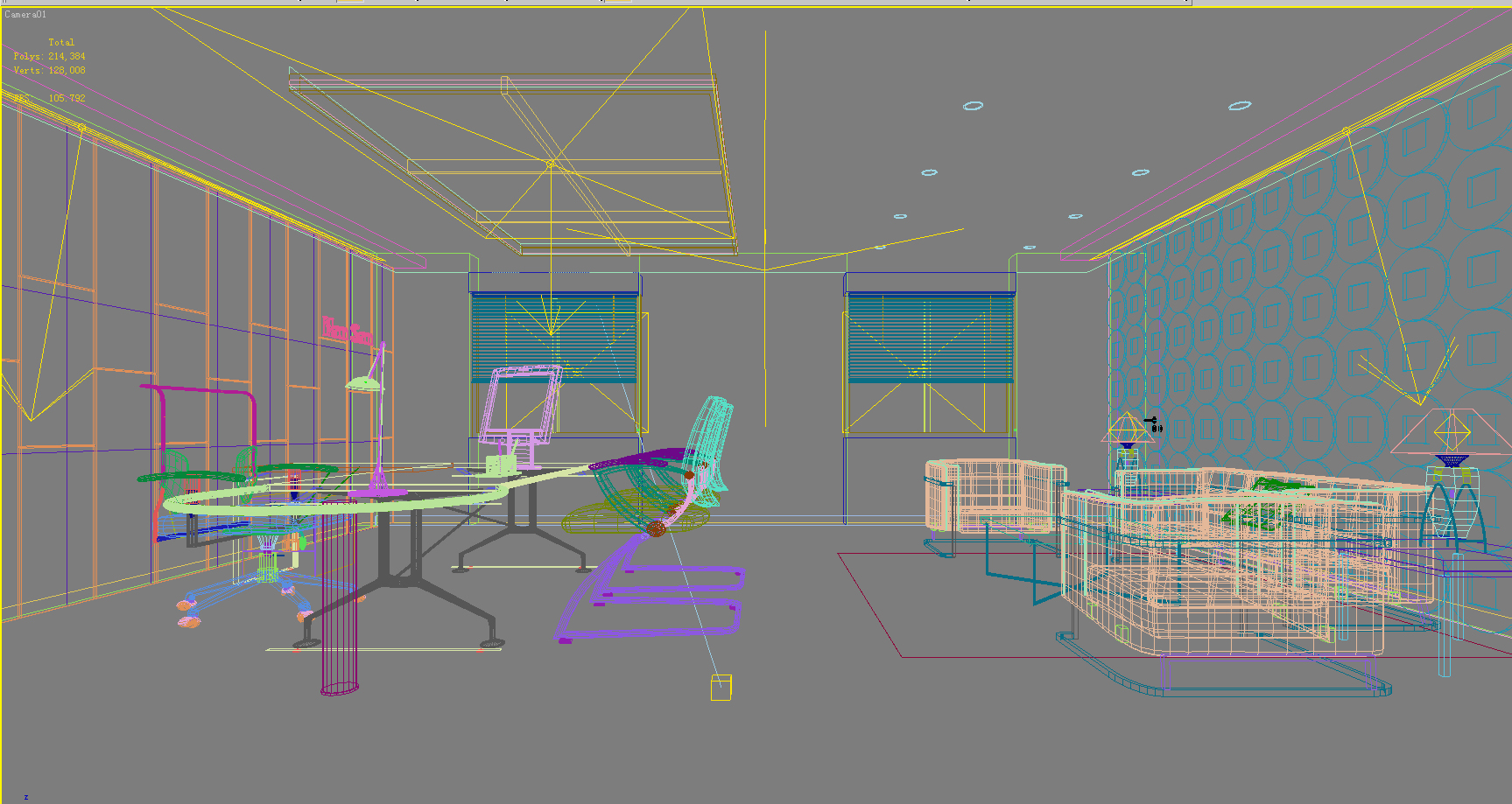 office 126 two 3d model max 137457