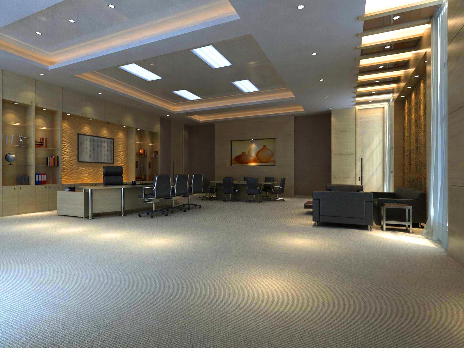 office 128 3d model max 122079