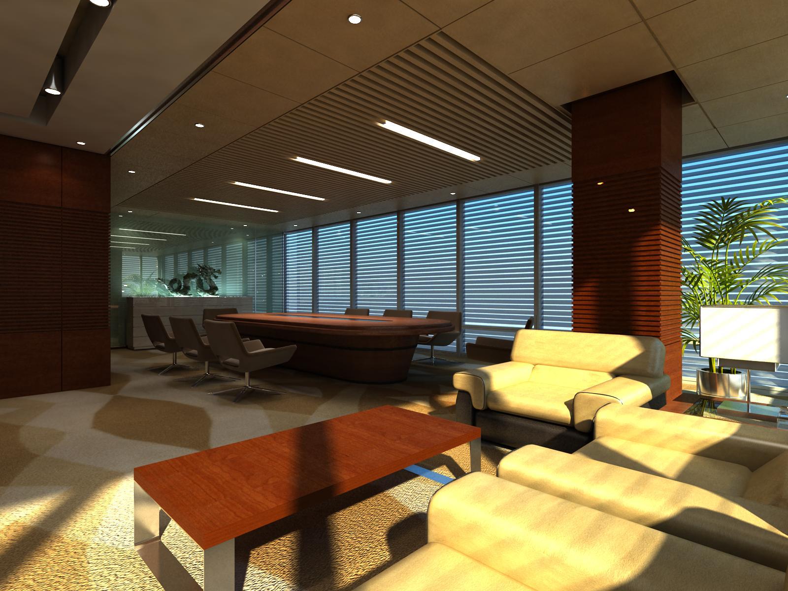 office 129 3d model max 122081