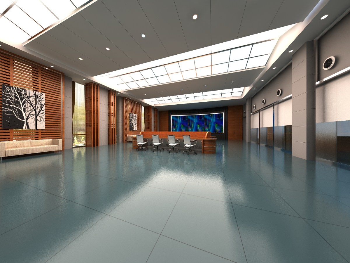 office 130 two 3d model max 137462