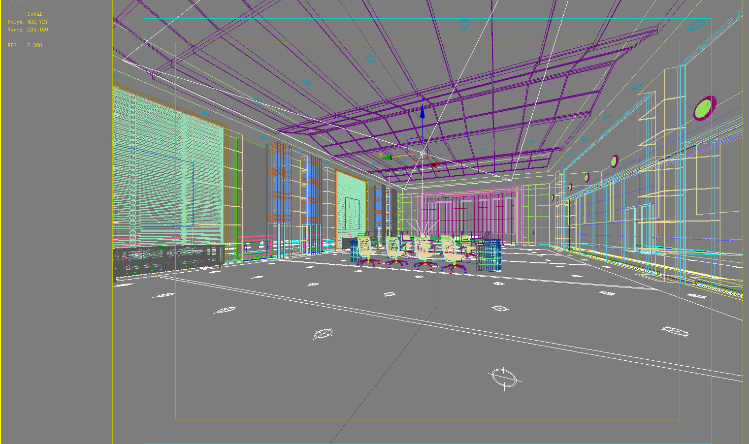 office 130 two 3d model max 137463