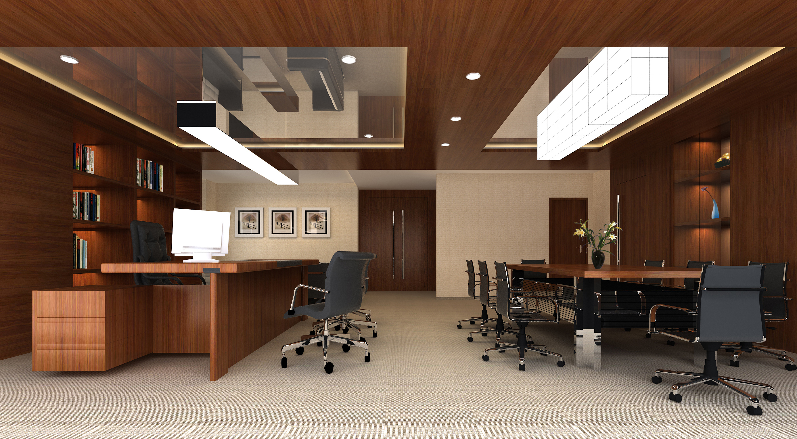 office 131 two 3d model max 137464
