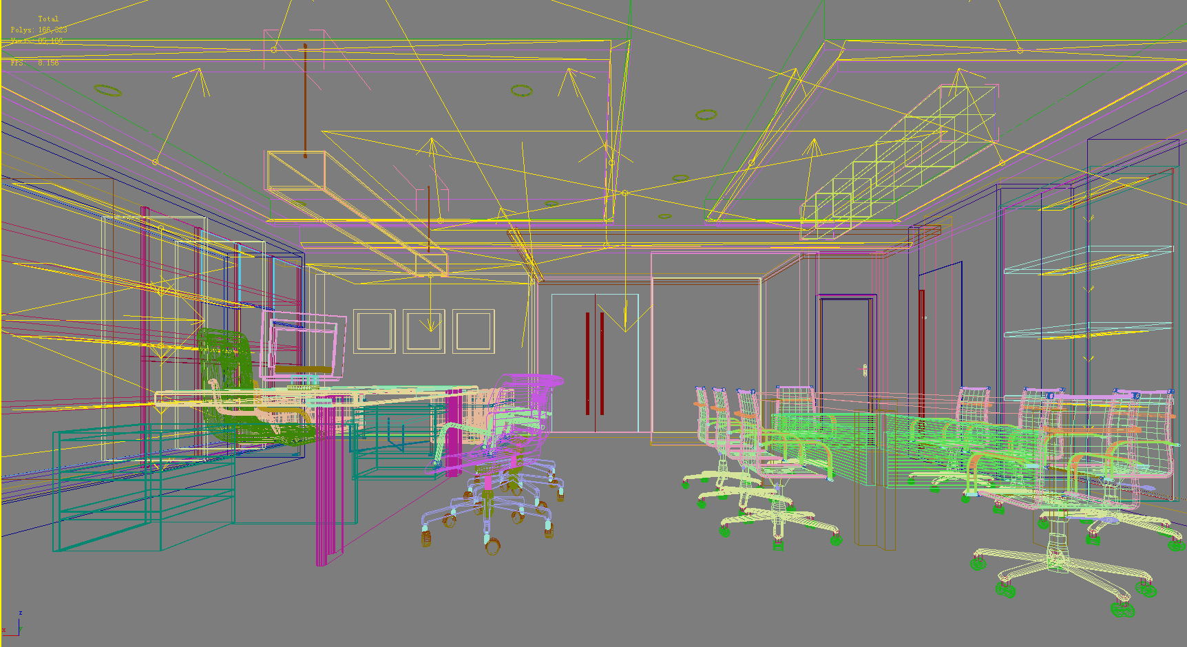 office 131 two 3d model max 137465