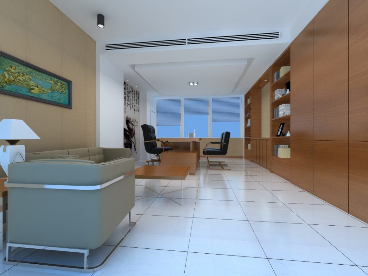 office 133 two 3d model max 137470