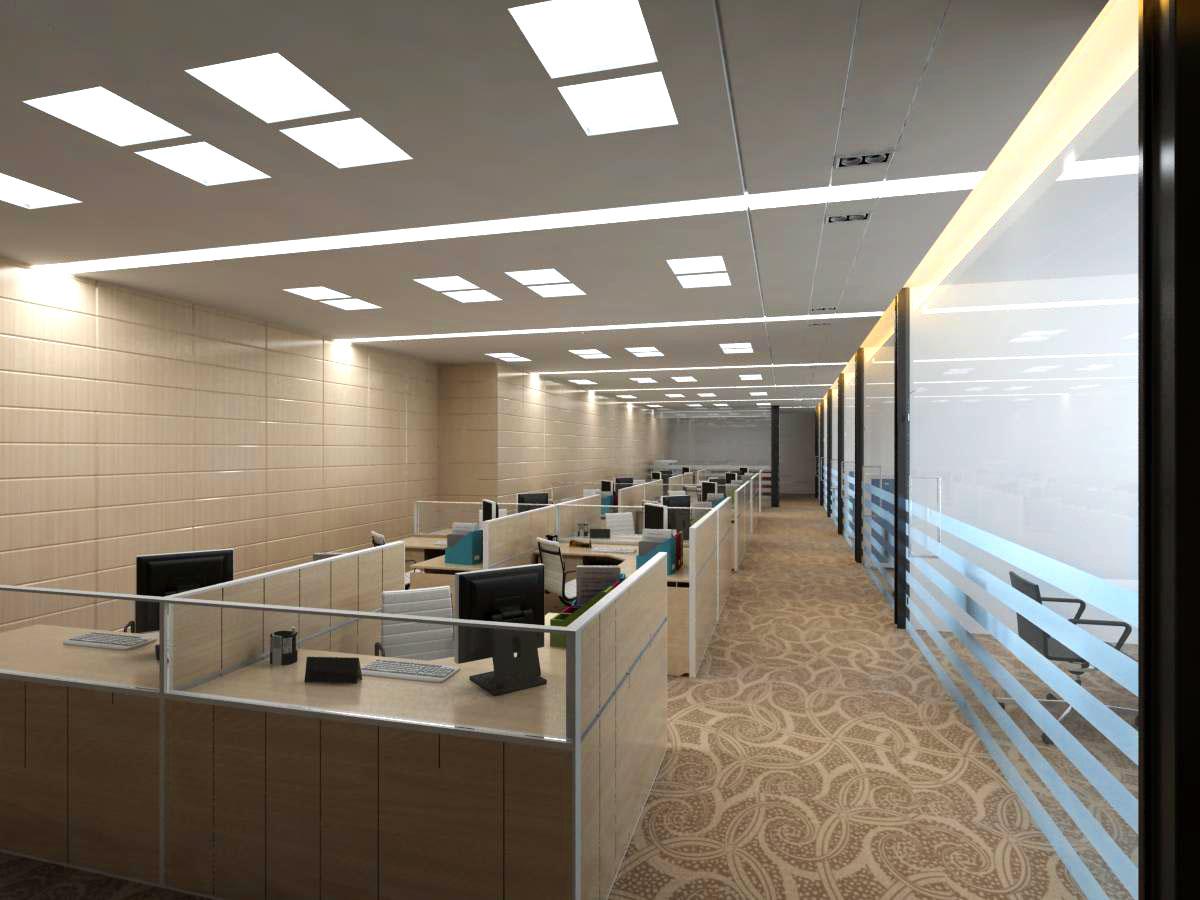 office 135 3d model max 122095