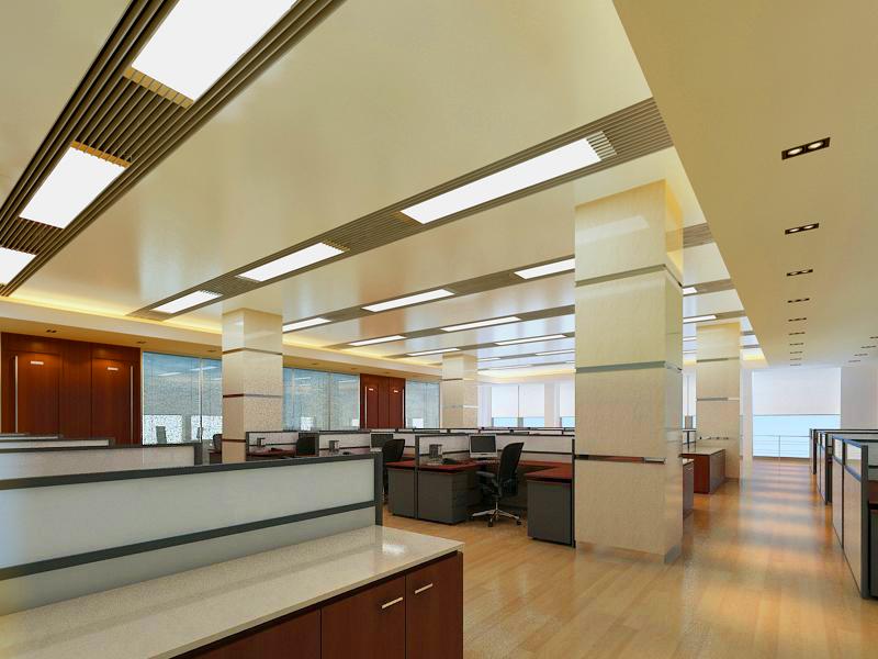 office 136 3d model max 122097