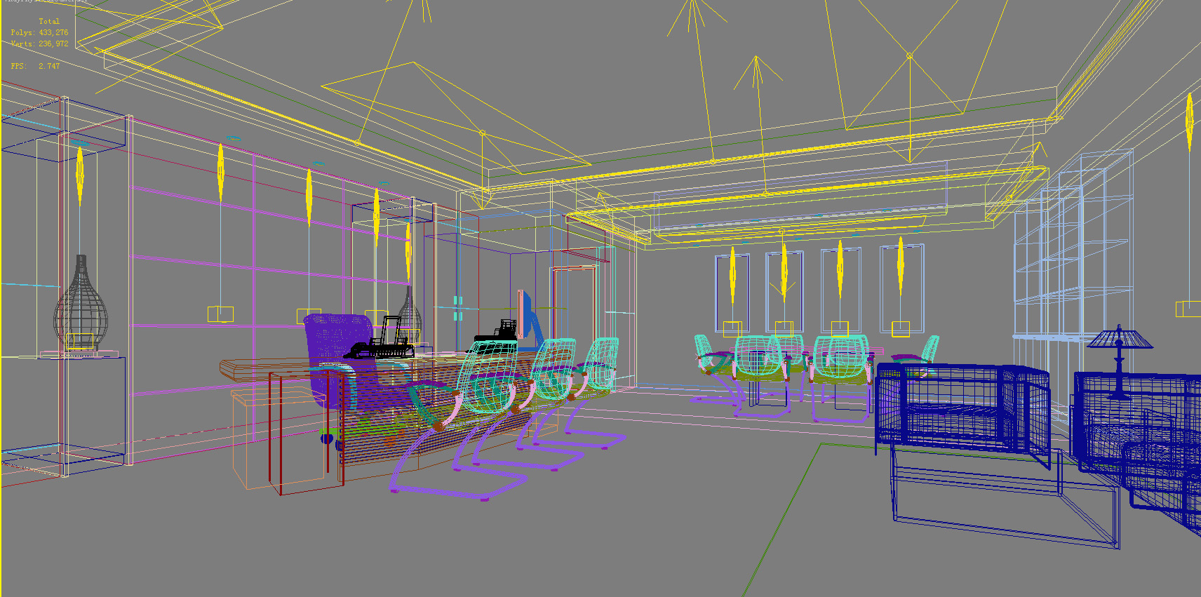 office 137 two 3d model max 137479