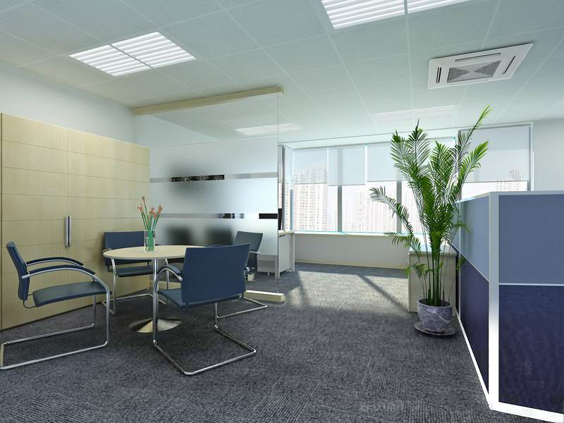 office 144 3d model max 122116