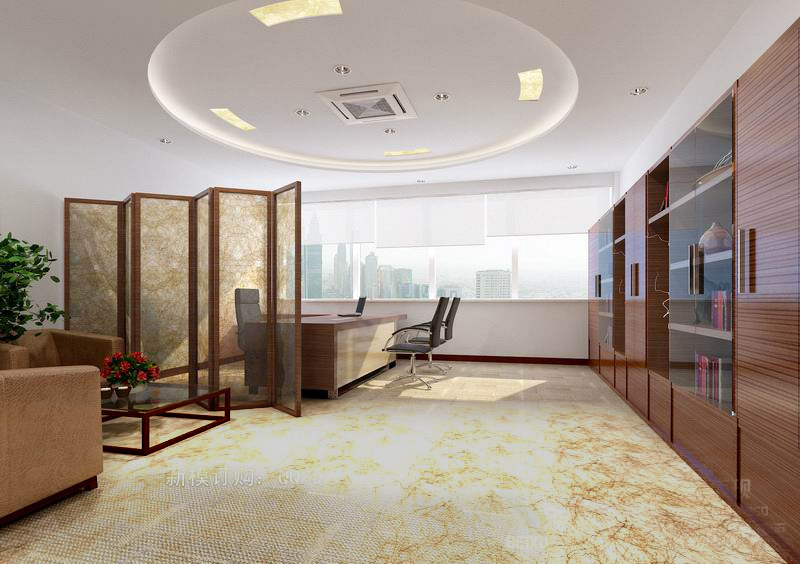 office 147 3d model max 122122