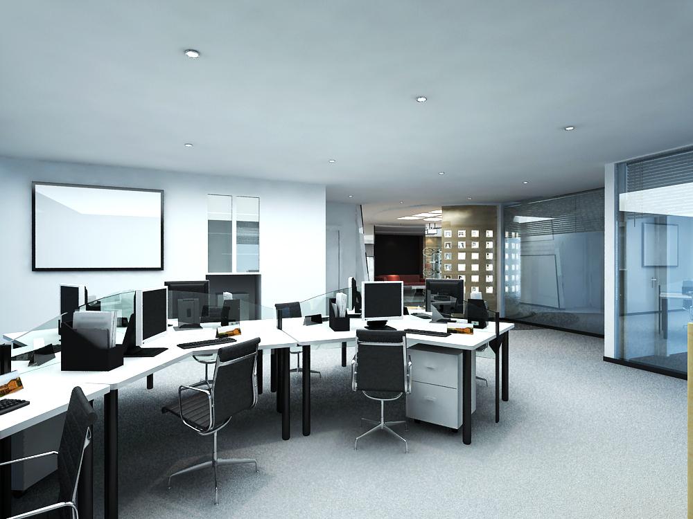 office 150 3d model max 122128