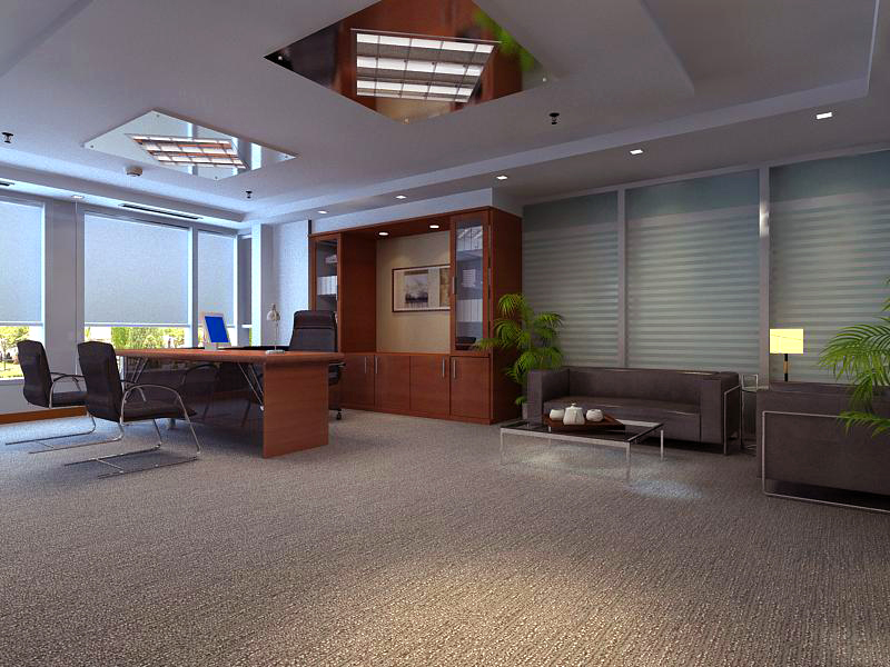 office 150 two 3d model max 144830
