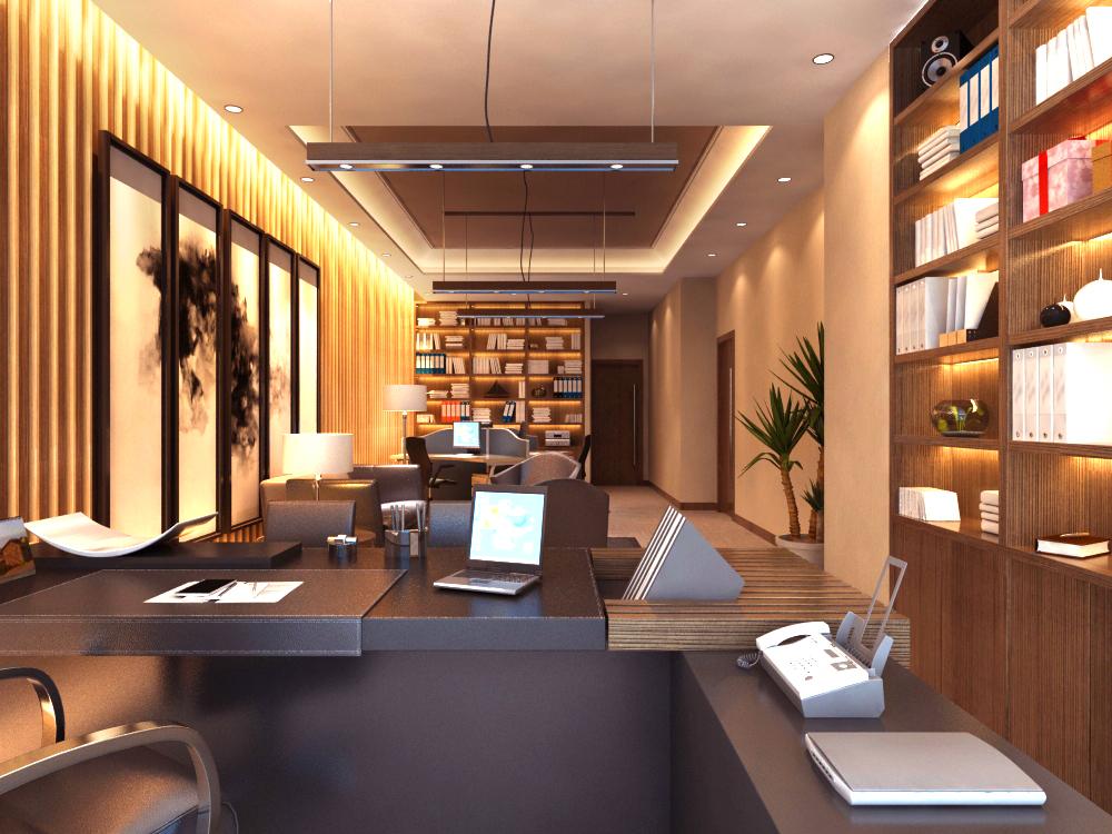 office 152 3d model max 122134