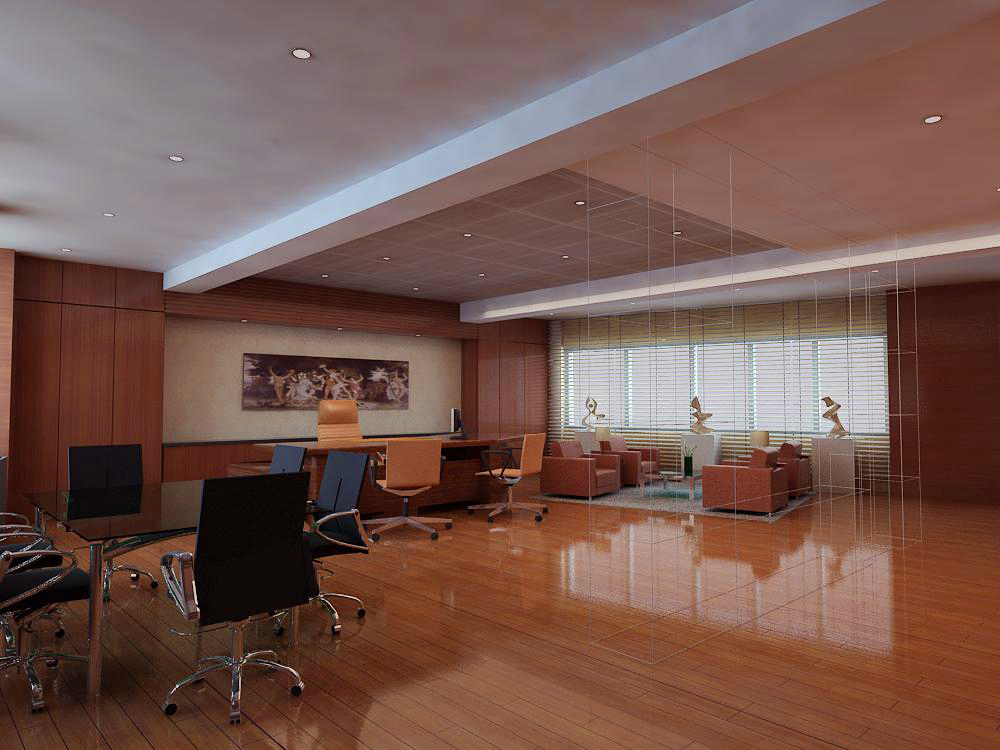 office 152 two 3d model max 144838