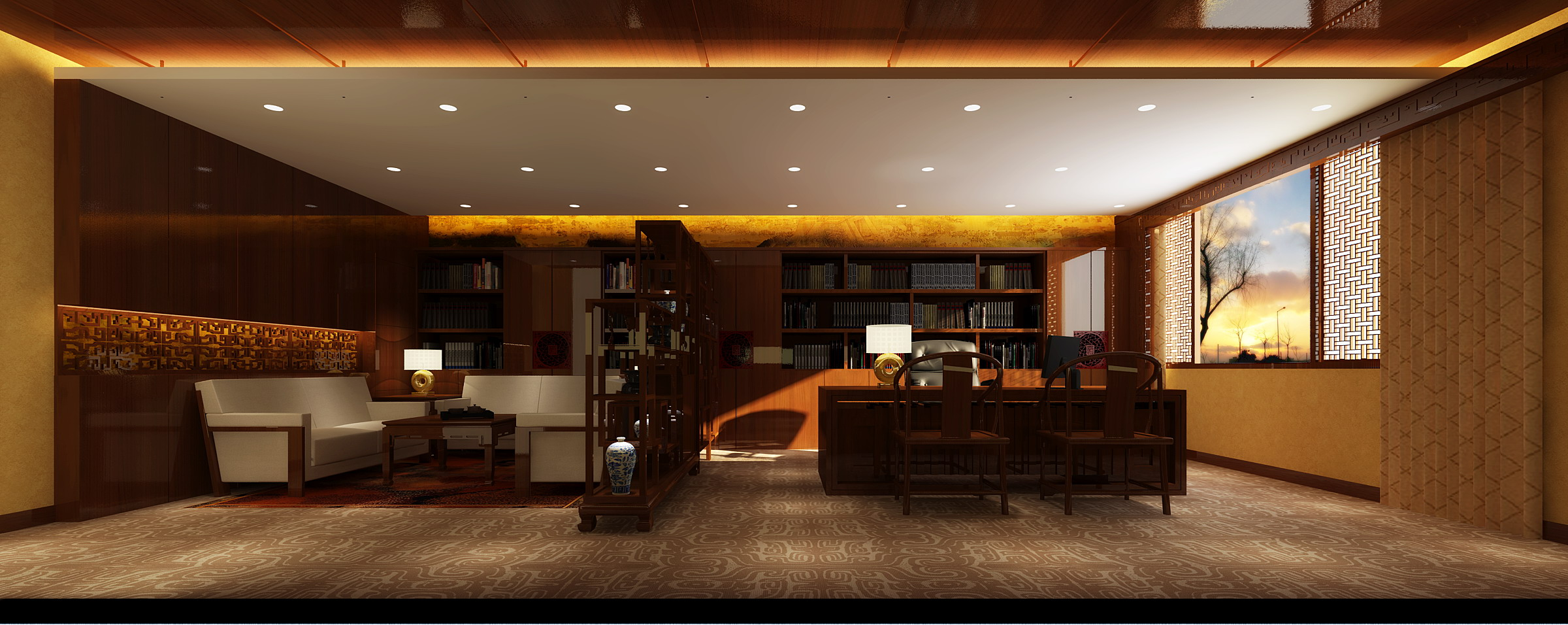 office 153 two 3d model max 144842