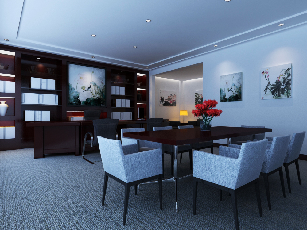 office 154 two 3d model max 144852