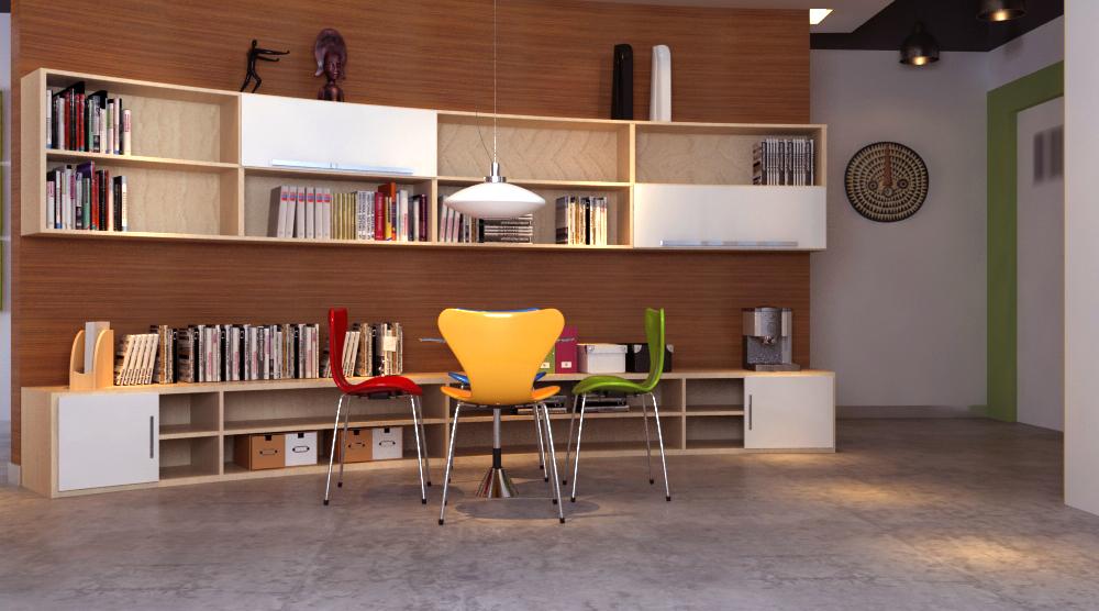 office 156 3d model max 122142