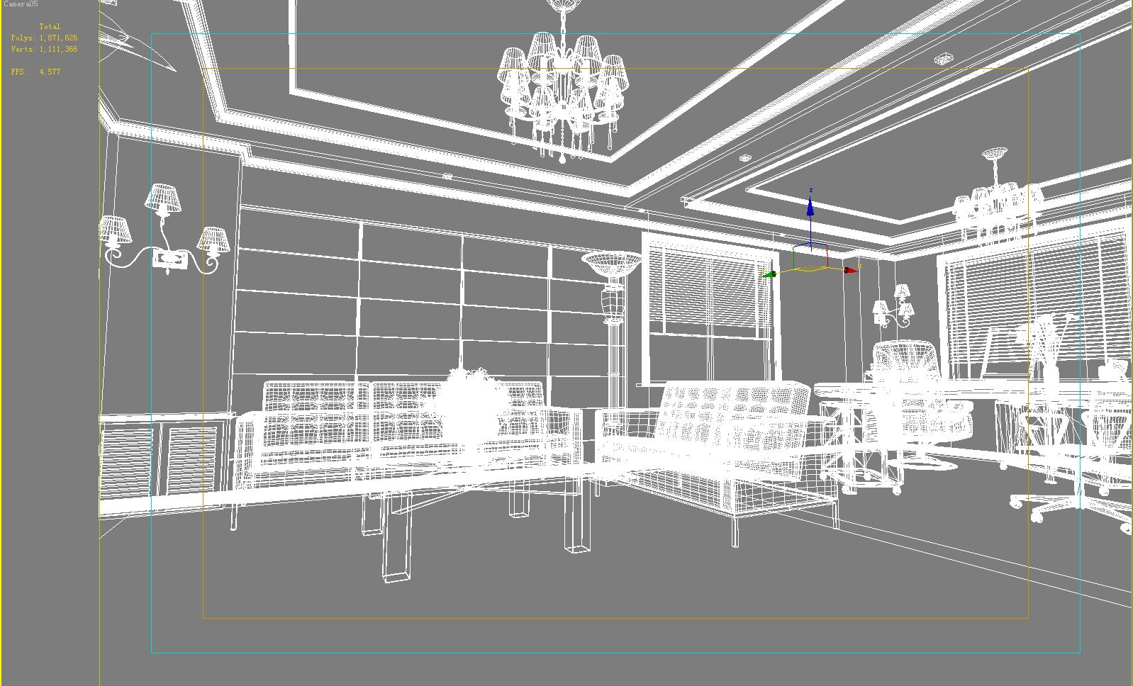 office 158 3d model max 144863
