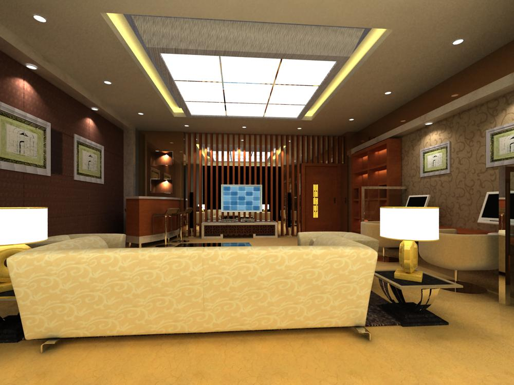 office interior 073 two 3d model max 144373