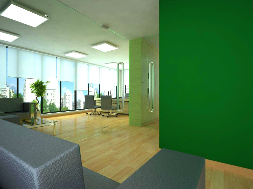 office spaces 003 3d model 124793