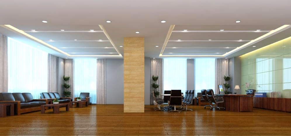 office spaces 004 3d model max 124798
